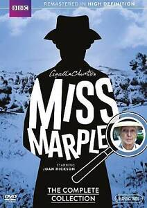 Miss Marple: The Complete Collection (DVD, 2015, 9-Disc Set) BBC Series