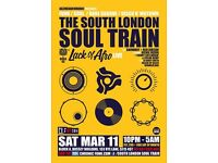 The South London Soul Train with JHC, Lack Of Afro Live + More on 3 Floors