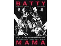 Batty Mama - Strip It Black on October 21, 2016