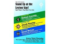 Comedy at Leyton Star with Bear Jokes
