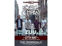 CAMDEN ROCKS PRESENTS KEYHOLE COMPANY AND MORE AT CROWNDALE CLUB