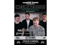 CAMDEN ROCKS ALL-DAYER FEAT. CHARLIE MANNING AND MORE AT PROUD