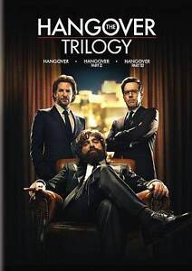 The Hangover Trilogy (DVD, 2016, 3-Disc Set) - NEW!!