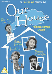 OUR HOUSE. Hattie Jacques, Charles Hawtrey. New sealed DVD.