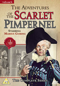 THE ADVENTURES OF THE SCARLET PIMPERNEL complete series. 3 discs. Brand new DVD.