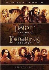 HOBBIT TRILOGYLORD OF RINGS TRILOGY DVD6PK NEW - North Augusta, South Carolina, United States - HOBBIT TRILOGYLORD OF RINGS TRILOGY DVD6PK NEW - North Augusta, South Carolina, United States