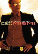 CSI Miami DVD