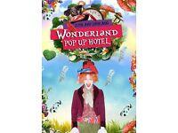 Wonderland pop up hotel