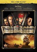 Curse of The Black Pearl Blu Ray
