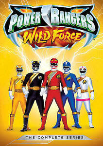 POWER RANGERS WILD FORCE THE COMPLETE  - $18.57