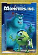 Monsters Inc Blu Ray