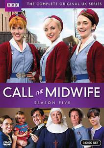 Call the Midwife: Season 5 DVD, 2016, 3-Disc Set