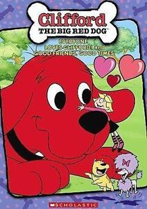 clifford the big red dog dvd