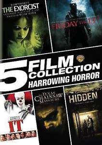 5 Film Collection: Harrowing Horror (DVD, 2016)