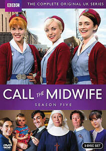 Call-the-Midwife-Fifth-Season-5-Five-DVD-2016-3-Disc-Factory-Sealed-Brand-New