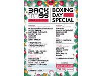 Backto95 Garage Classics Boxing Day
