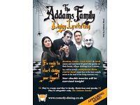 Addams Family Dining Invitation