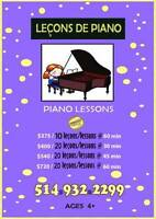 Children's Piano – 2 FREE LESSONS!!!