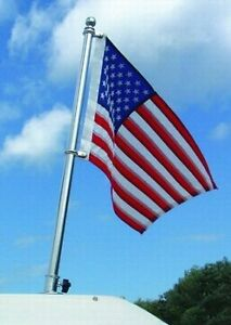 BOAT Taylor Made Deluxe Stainless Steel Flag Pole