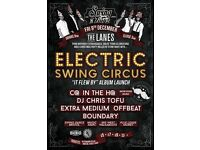 Swing N Tingz 14: Birthday Extravaganza w/ Electric Swing Circus