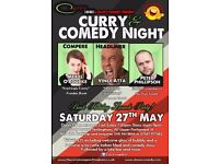 Curry and Comedy Night Nottingham