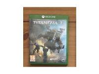 Xbox one game Titanfall 2