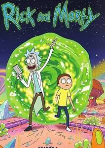 Rick and Morty: The Complete First Season (DVD, 2014, 2-Disc Set) Brand New