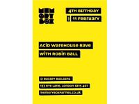 "Memory Box 4th Birthday ""Acid Warehouse Rave"""