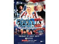 COUNTRY SUPERSTARS EXPERIENCE, STOKE VICTORIA HALL