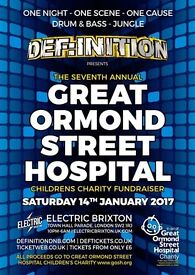 The Great Ormond Street Hospital Children's Charity Fundraiser