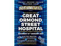 The Great Ormond Street Hospital Children's Charity Fundraiser