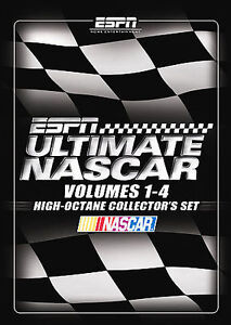 ESPN Ultimate NASCAR High Octane Collectors Set Vols  1-4 (DVD, 2007,  4-Disc Set)