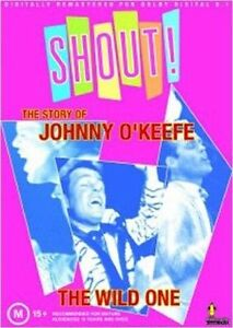 Shout: The Story of Johnny O'Keefe * by Johnny O'Keefe (DVD, Feb-2009)(D96)