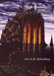 NEW Erik Norlander & Friends Live In St. Petersburg DVD (Audio CD)