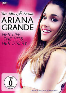 Ariana Grande: The Story of Ariana - Her Life, the Hits, Her Story (DVD, 2015)