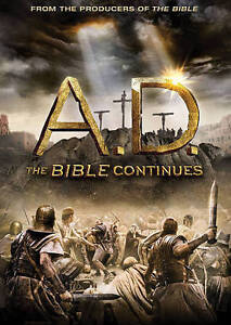 NEW-Sealed-A-D-The-Bible-Continues-4-Disc-DVD-Set-SS