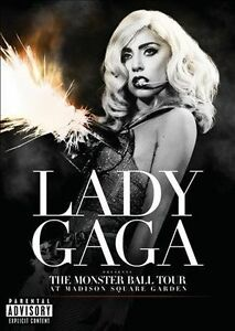 The Monster Ball Tour at Madison Square Garden [PA] by Lady Gaga (DVD, Nov-2011,