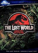 Jurassic Park The Lost World DVD