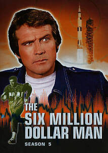 The Six Million Dollar Man: Season 5 New DVD! Ships Fast!