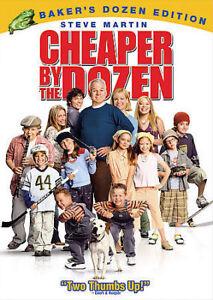 Cheaper By The Dozen DVD, 2005, Full Screen Special Edition  - $1.50