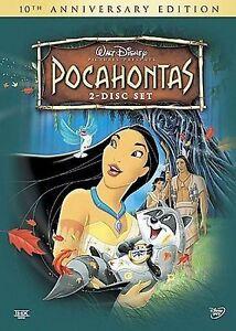 Disney's Pocahontas (DVD, 2005, 2-Disc Set)