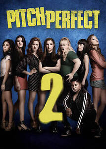 Pitch Perfect 2 DVD Anna Kendrick, Rebel Wilson - BRAND NEW w/ SLIPCOVER