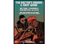 First Word Records x The Doctor's Orders Party at Red Gallery, Shoreditch