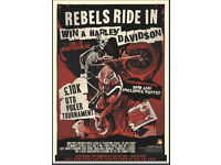 REBELS RIDE IN - MOTORCYCLE SOCIAL AT GROSVENOR CASINO READING SOUTH