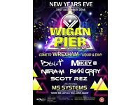 WIGAN PIER TAKEOVER: NEW YEAR'S EVE 2016