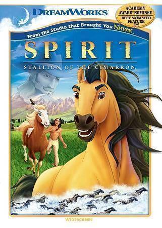 spirit stallion of the cimarron dvd ebay. Black Bedroom Furniture Sets. Home Design Ideas