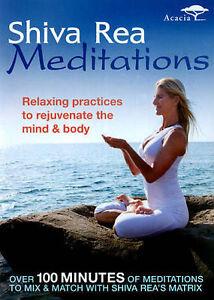 Shiva Rea: Meditations, Very Good DVD, Shiva Rea, Matt Wright, James Wvinner
