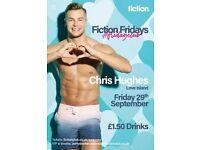 Fiction Fridays presents Chris Hughes Love Island