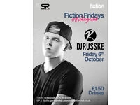Fiction Fridays   Feat. DJ Russke