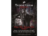 Halloween Twisted Circus Weekender